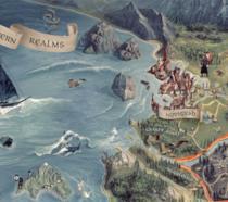 The Witcher 3 la mappa contenuta nella Collector Edition