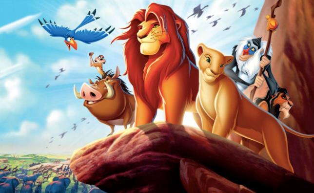 Il cast del Re Leone nel film d'animazione