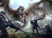 Un artbook di Monster Hunter World