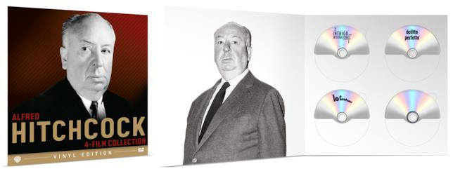 Il packaging della Alfred Hitchcock - Vinyl Collection