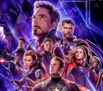 La locandina ufficiale di Avengers: Endgame