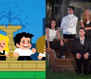 La sigla di Friends: Pixel vs originale