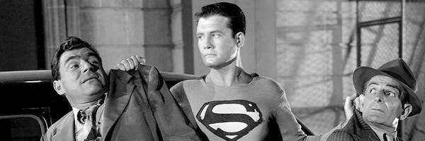 Mezzobusto di George Reeves nei panni del Superman televisivo