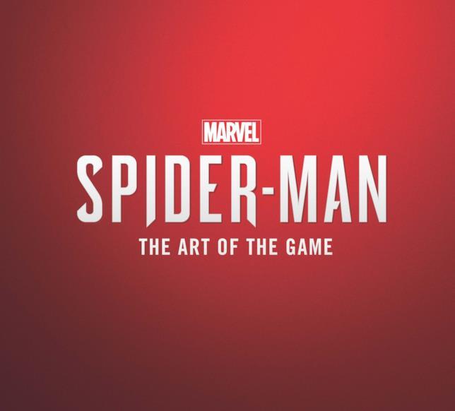 L'artbook ufficiale del videogame di Spider-Man