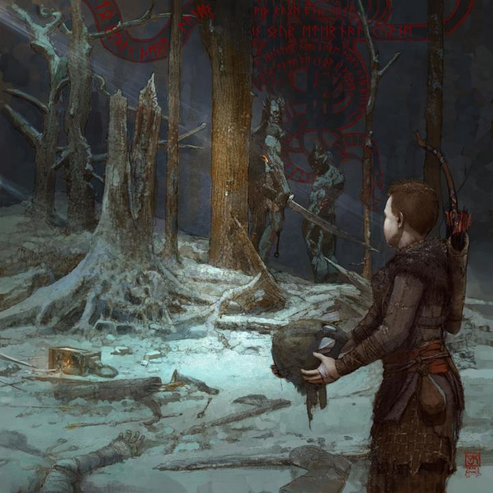 God of War: A Call From The Wilds regala 8 immagini del nuovo capitolo