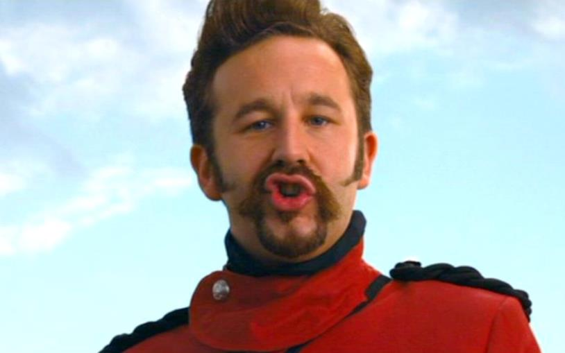 Generale Edoardo in una scena de I viaggi di Gulliver