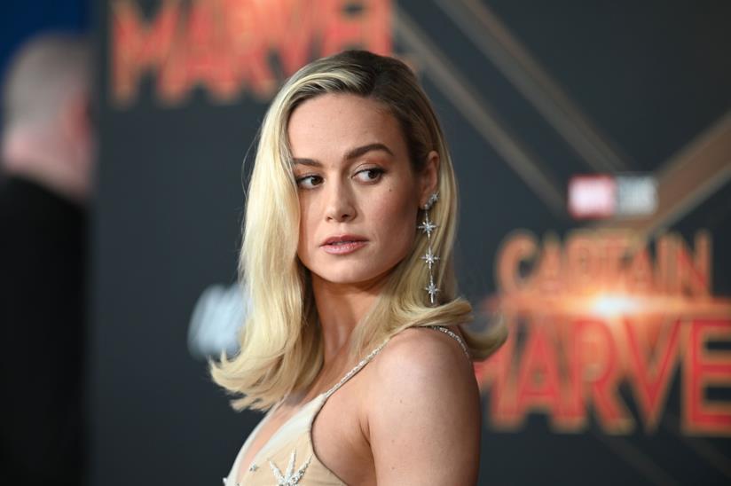 Brie Larson alla première di Captain Marvel