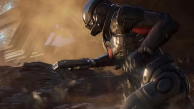 Una sequenza tratta dal primo trailer di Mass Effect: Andromeda