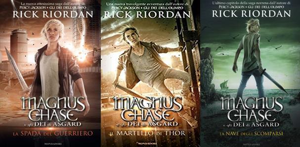 Magnus Chase e gli Dei di Asgard di Rick Riordan