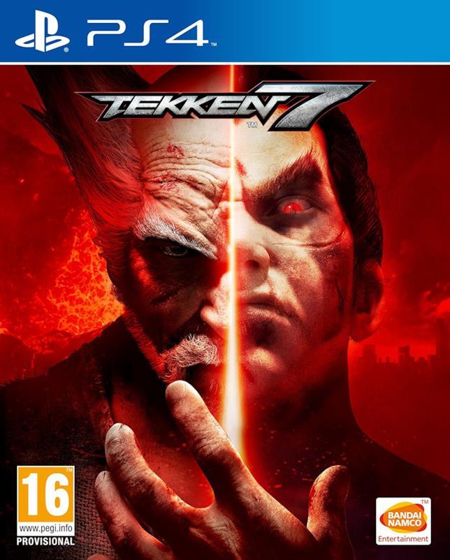 Tekken 7, la cover art