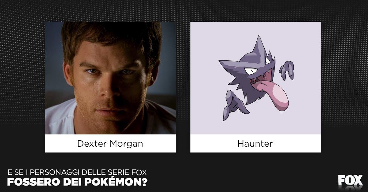 E se fosse Haunter il Passeggero Oscuro di Dexter?