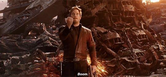 Star Lord in Infinity War