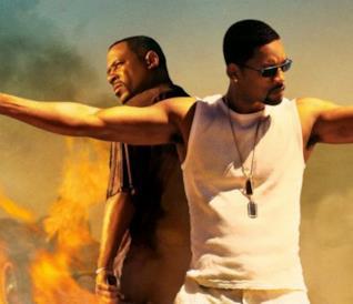 Will Smith e Martin Lawrence nel poster di Bad Boys II