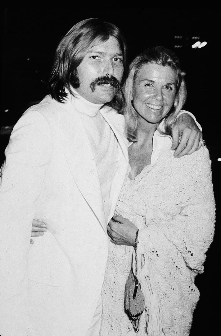 Terry Melcher e sua madre: Doris Day