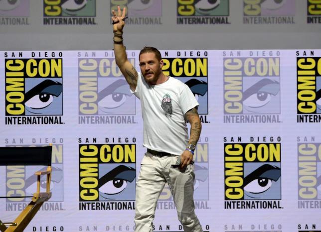 Tom Hardy, attore impegnato in Venom
