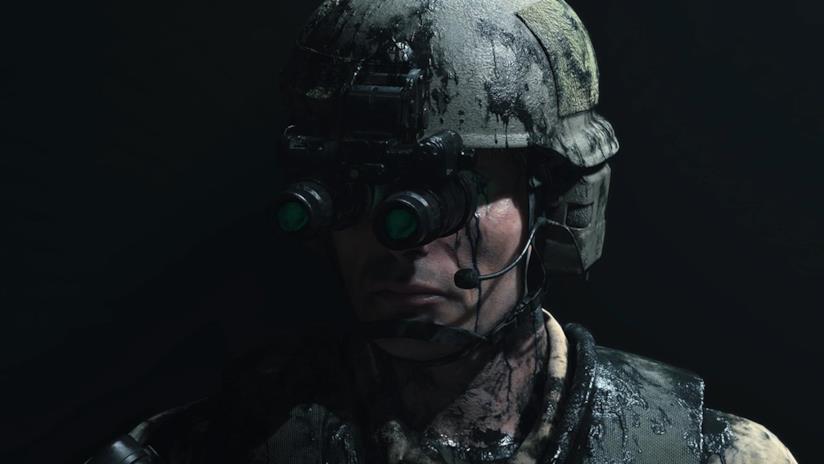 Uno dei misteriosi soldati visti nel trailer di Death Stranding