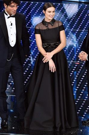 Kasia Smutniak al Festival di Sanremo 2016