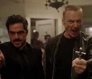 Scena dell'episodio 2X06 di The Exorcist 2