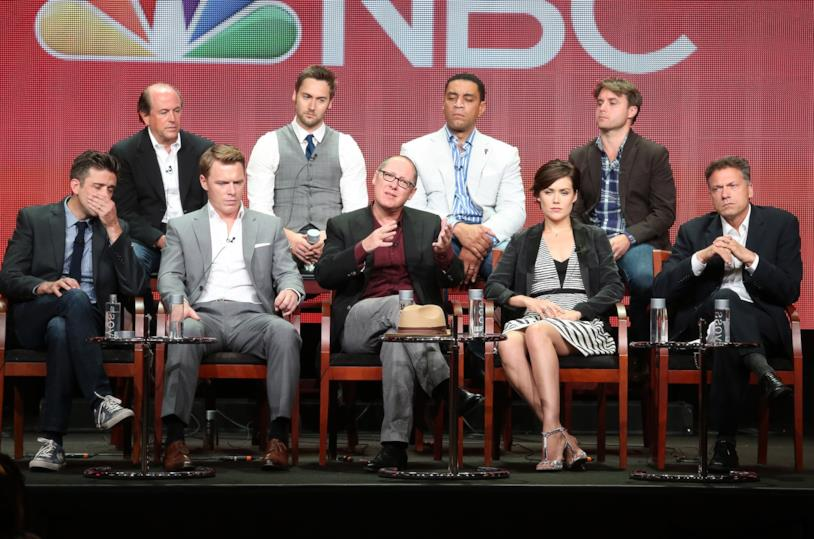 Alcuni attori del cast di The Blacklist