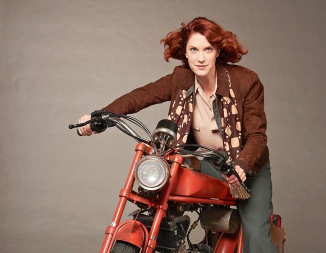 Lauren Lee Smith, protagonista di Frankie Drake Mysteries