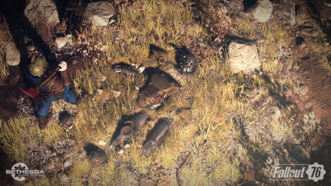 Uno screenshot da Fallout 76