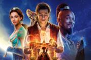 I protagonisti di Aladdin nel poster del film