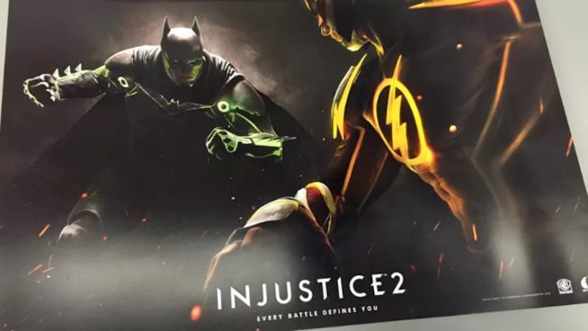 Poster leakkato di Injustice 2