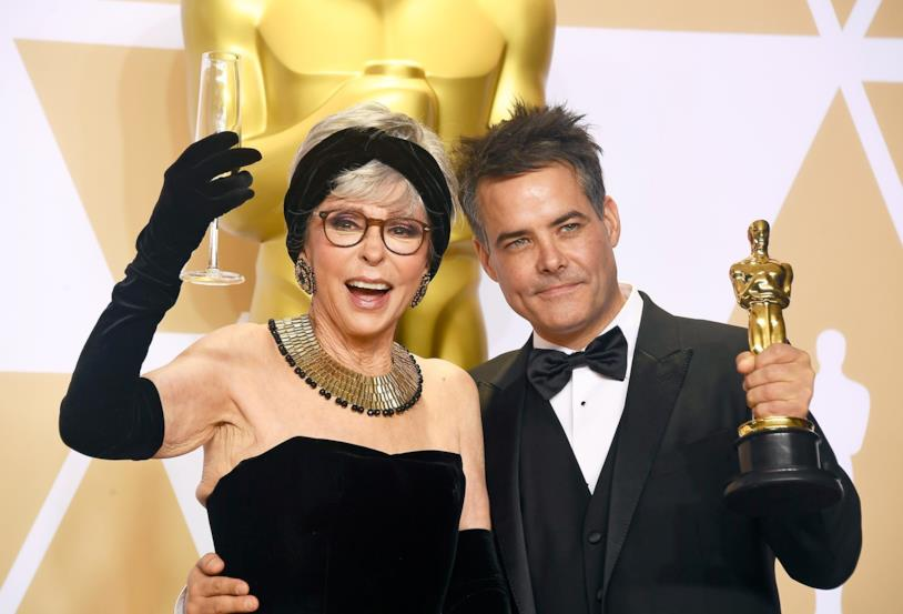 Rita Moreno e Sebastián Lelio agli Oscar 2018