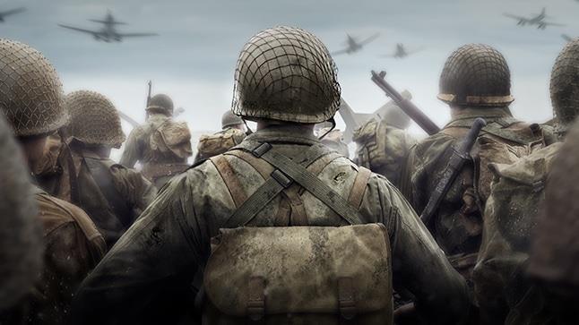 Immagine in CGI di soldati visti di spalle, estratta dal videogma