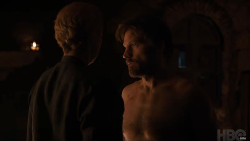 GoT 8x04: Jaime e Brienne passano la notte insieme