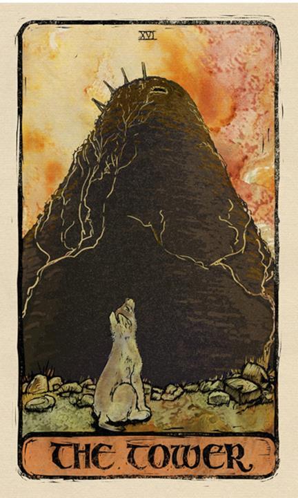 La carta della Torre nei tarocchi di Game of Thrones