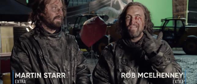 Martin Starr e Rob Mcelhenney vengono uccisi nel loro cameo in GoT 8