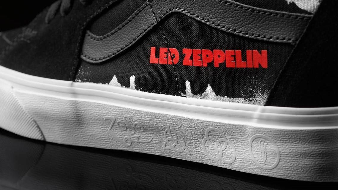 In arrivo la collezione Vans firmata dai Led Zeppelin