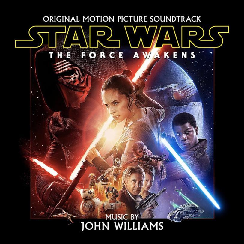 Copertina del CD Star Wars Episodio VII