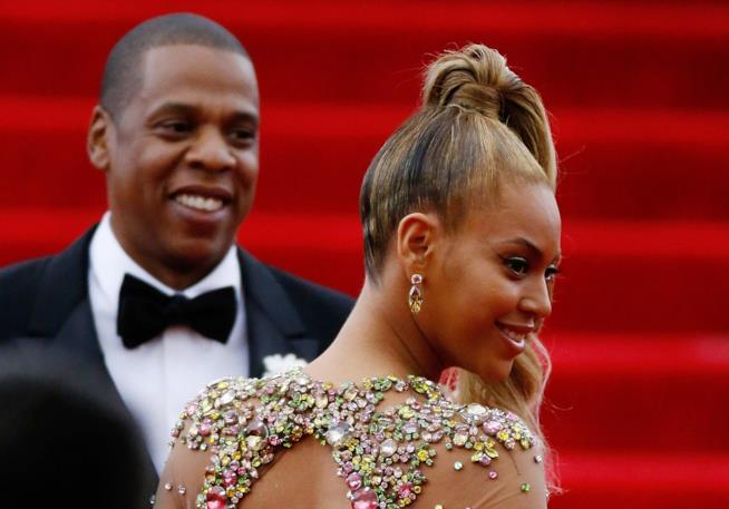 Jay Z e Beyoncé felici e innamorati