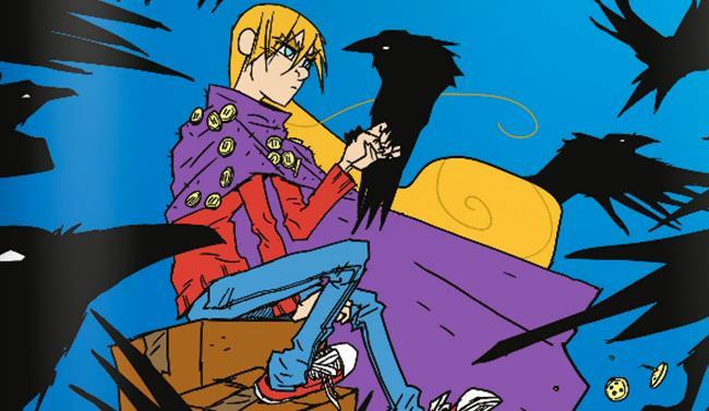 Porzione della copertina di La Principessa Spaventapasseri