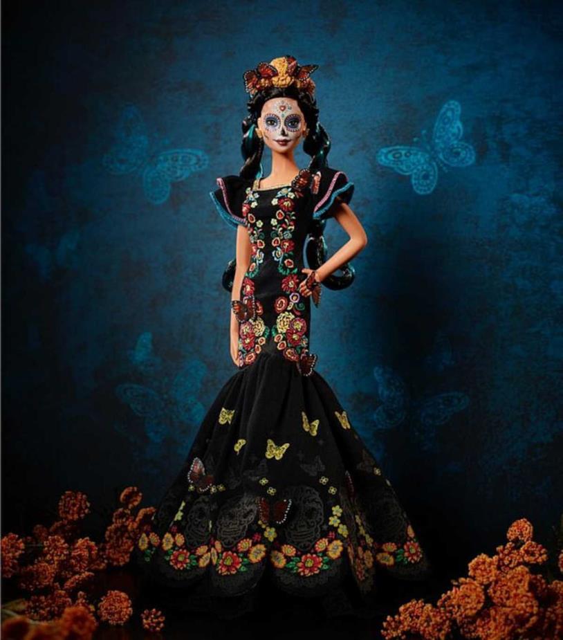 Un'immagine della nuova Barbie