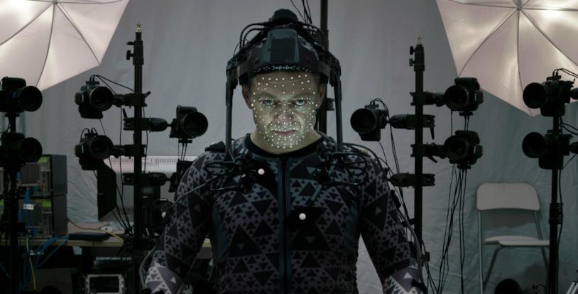 Andy Serkis sul set di Star Wars: Gli Ultimi Jedi