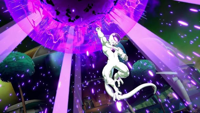Freezer in azione in Dragon Ball FighterZ