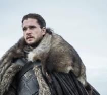Kit Harington in un'immagine promozionale da Game of Thrones