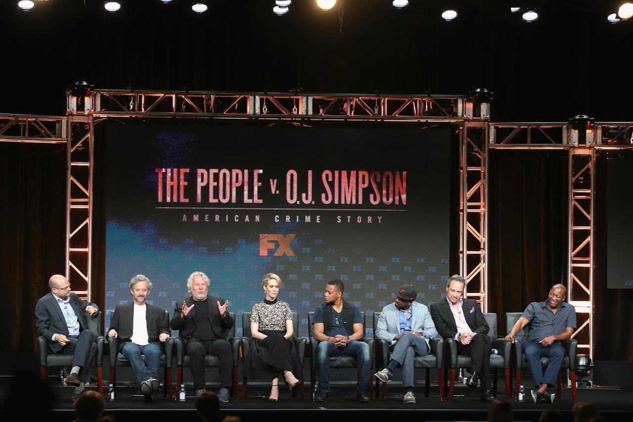 Il cast di Il Caso O.J. Simpson al TCA 2016