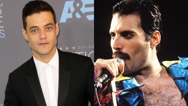 Freddie Mercury e Rami Malek