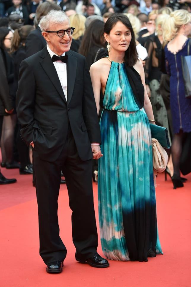 Woody Allen e Soon-Yi a un evento ufficiale