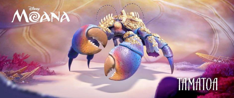 Tamao è un granchio che non sopporta più di essere un anello debole della catena alimentare