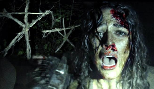 scena di Blair Witch