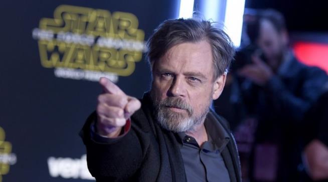 Mark Hamill alla première di Star Wars VII