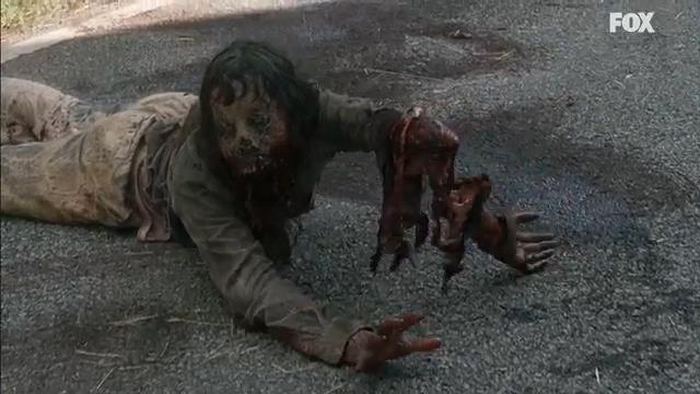 Zombie nel trailer di The Walking Dead 7