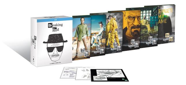 Cofanetto della white edition di Breaking Bad