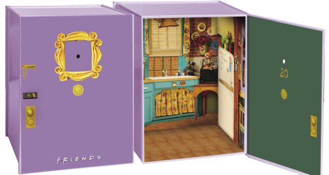 Il cofanetto contenente tutti gli episodi della serie Friends