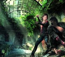 Joel e Ellie in una keyart ufficiale di The Last of Us